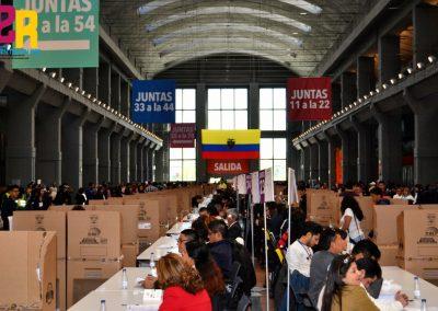 Segunda vuelta electoral de Ecuador en España