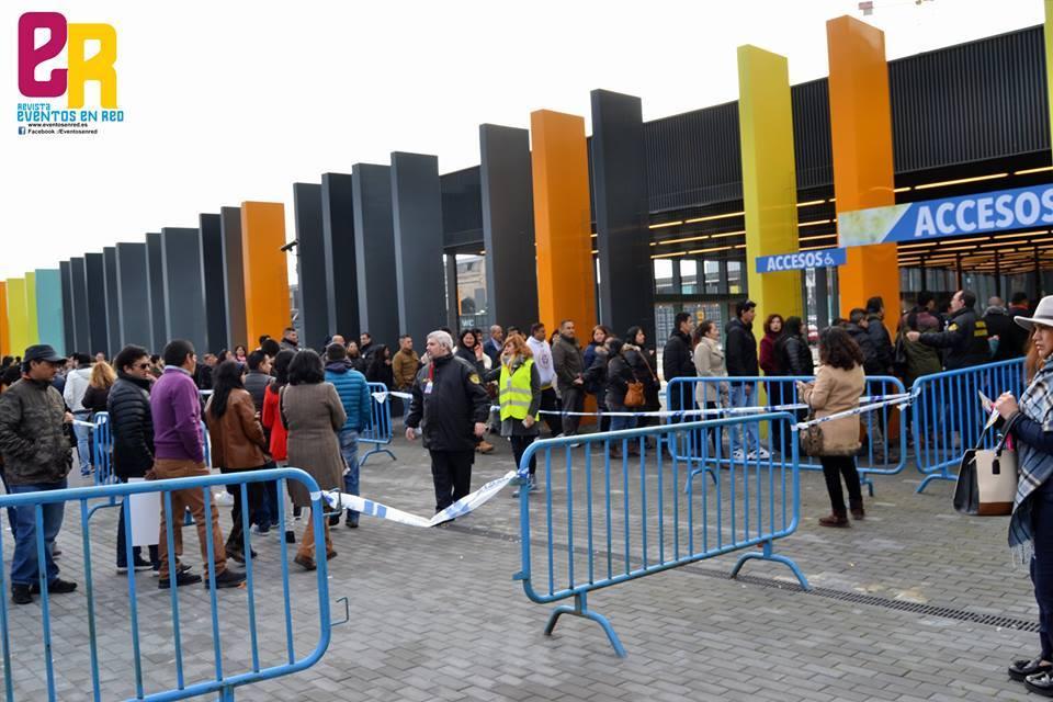 Multitud de ecuatorianos se quedaron sin votar en Madrid