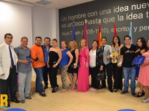 La III Gala latinos Emprendedores dondealgunos de los protagonistas son Ecuatoranos