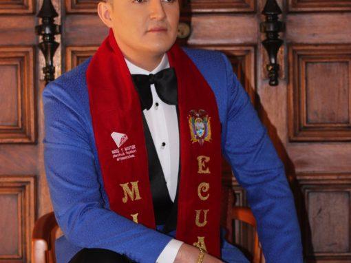 Declamador de Pastaza es el Míster Ecuador 2017