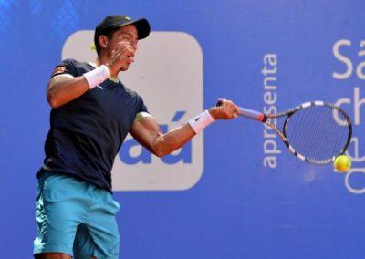 Inicio Tenista ecuatoriano Escobar clasifica a la semifinal del torneo en La Paz