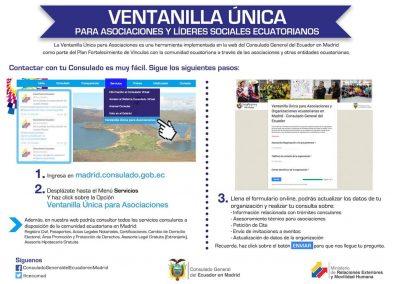 Ventanilla Única  Para Asociaciones Ecuatorianas
