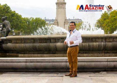 Máximo Escaleras en Madrid trabajando para su nueva producción