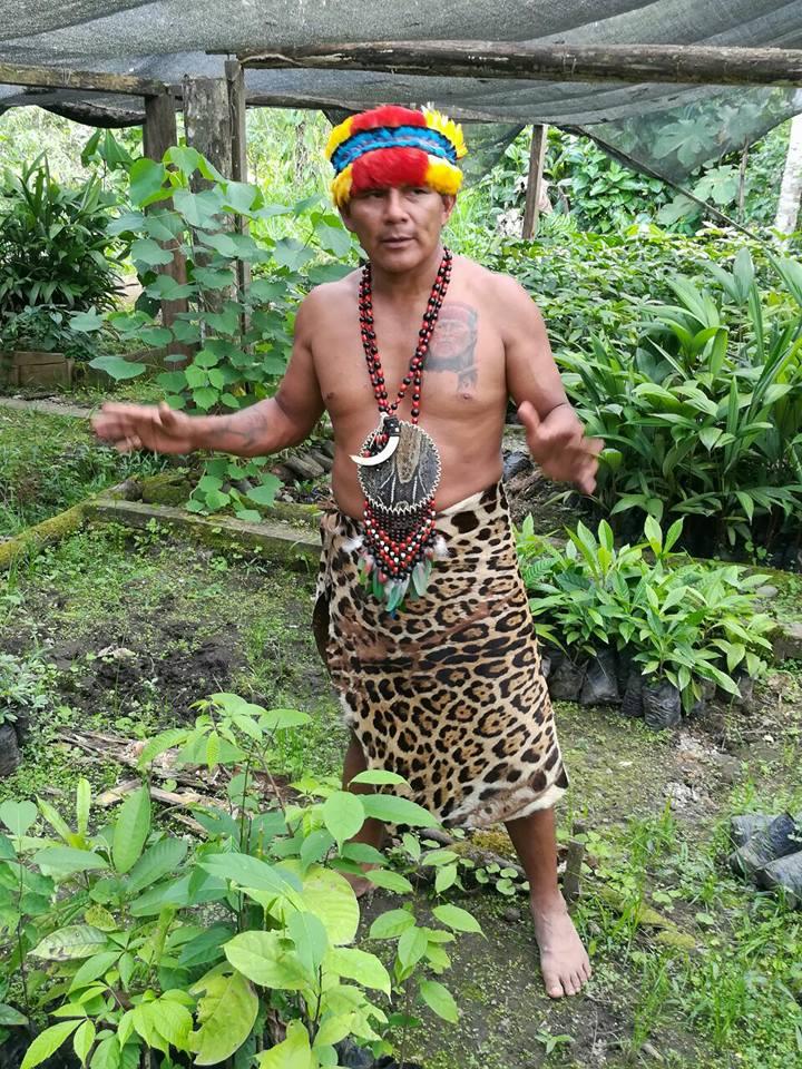 Entrevista a Tzama Tigre Tzamaren es un nativo amazónico originario de la nación Shuar en el Ecuador
