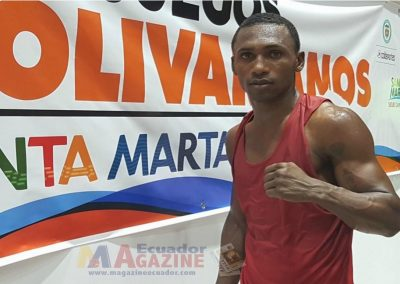 Boxeador Miguel Ferrín obtiene el cuarto oro de Ecuador en los Bolivarianos
