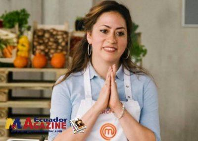 Ecuatoriana expone la gastronomía nacional en reality extranjero