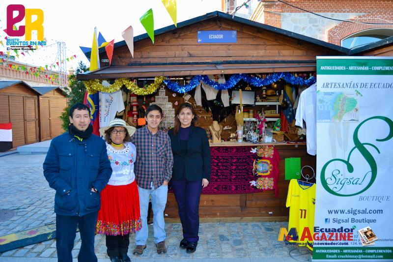 Así se está viviendo la Navideña Feria Internacional de las Culturas En el Matadero Madrid.