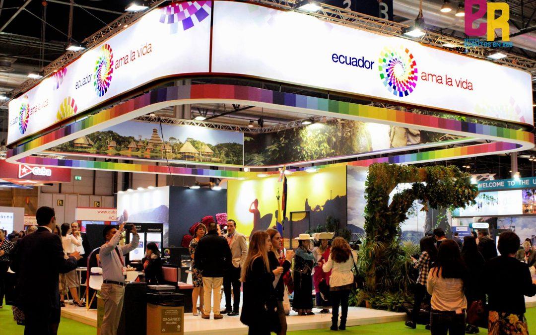 Ecuador presenta como el país de los cuatro mundos para el destino turístico en Fitur 2018 Madrid.