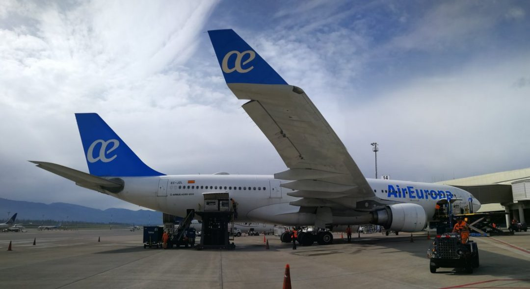 Air Europa estrenó su ruta Madrid-Quito