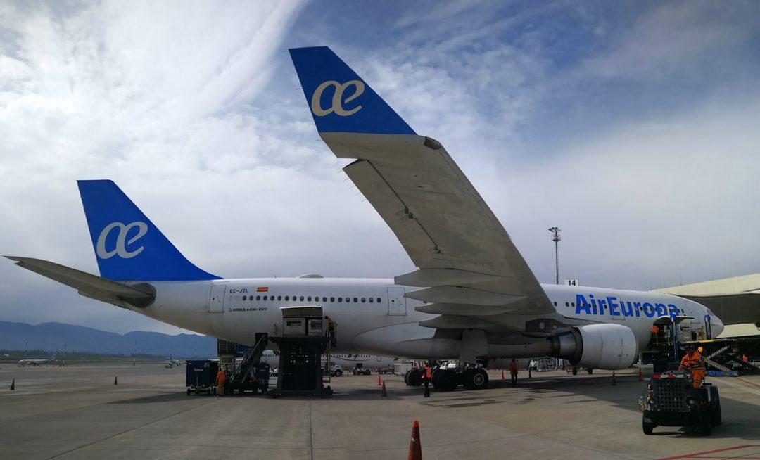 Air Europa estrenó su ruta Madrid-Quito