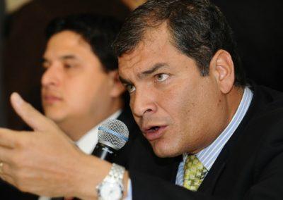 Correa podría ser detenido con fines investigativos por el caso San Lorenzo, dice penalista