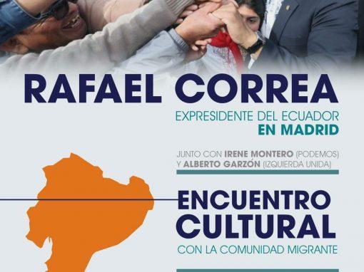 Guía| El ex presidente del Ecuador Rafael Correa visitará varias ciudades de España en una gira llena de conferencias magistrales
