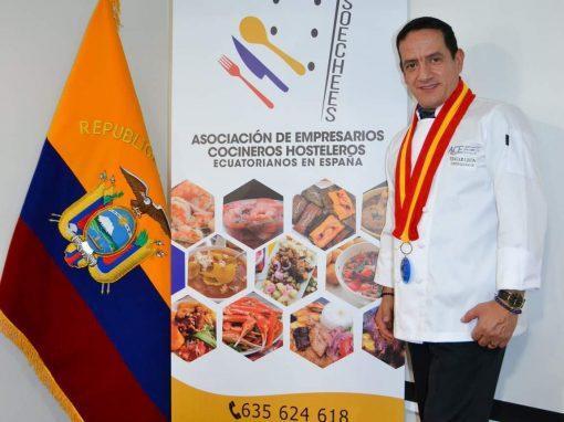 """La presentación del libro""""Sopas. La Identidad de Ecuador"""" del Chef ecuatoriano Edgar Leon fue magistral e histórico."""