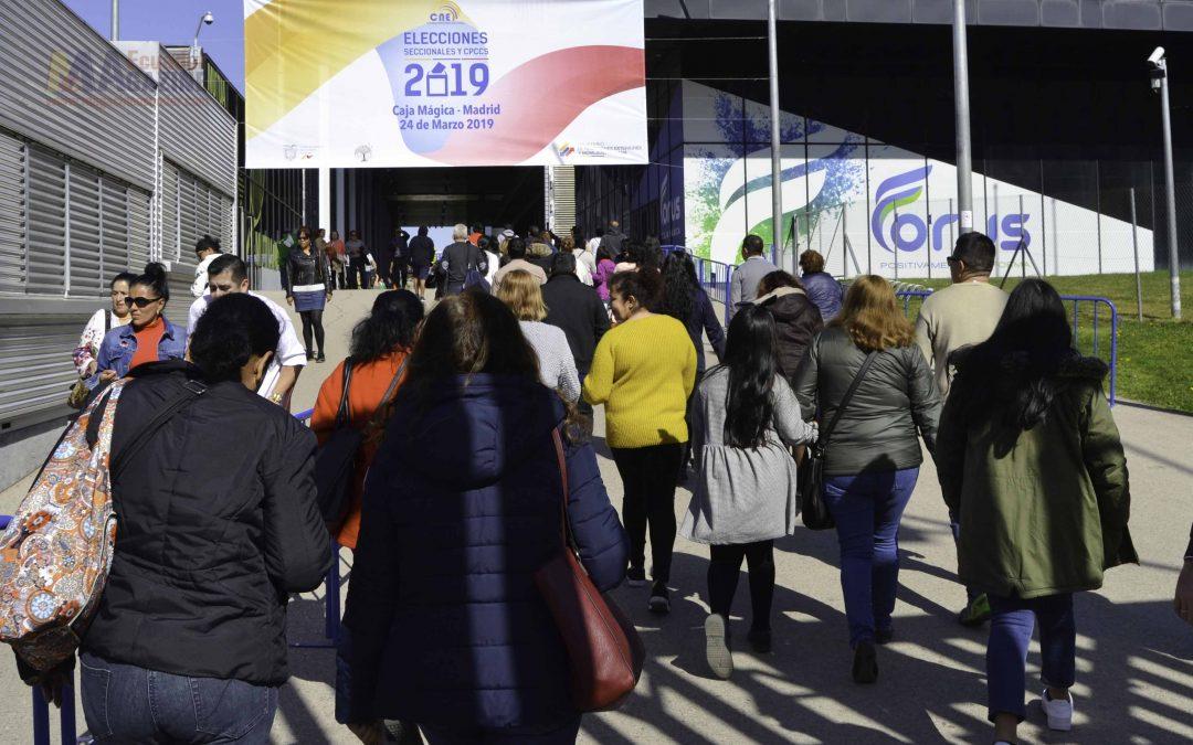 Ecuador concluye la jornada electoral con la participación de un 23,35%  de compatriotas en España