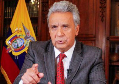 El presidente de Ecuador decretó el estado de excepción por las protestas por el alza del precio de los combustibles