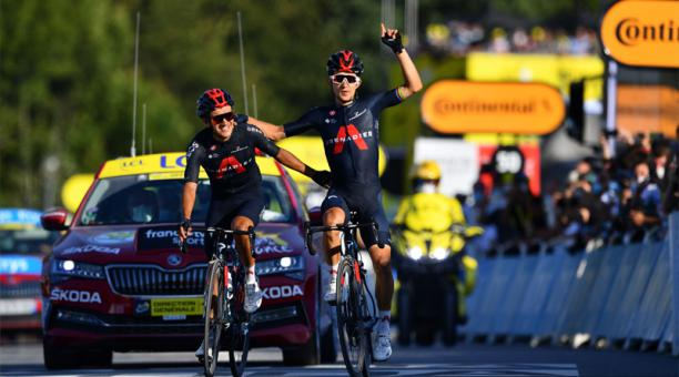 Richard Carapaz comandará al equipo Ineos Grenadiers en la Vuelta a España