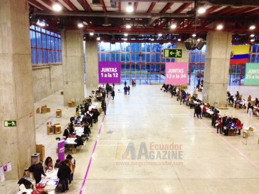 IMILES DE ECUATORIANOS ACUDIERON A LAS URNAS EN ESPAÑA