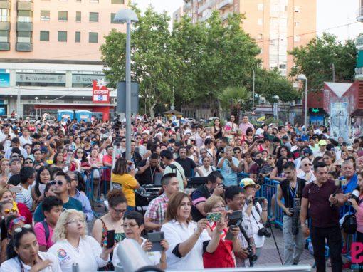 FIESTA NACIONAL DEL ECUADOR EN MADRID ESPAÑA 2018.