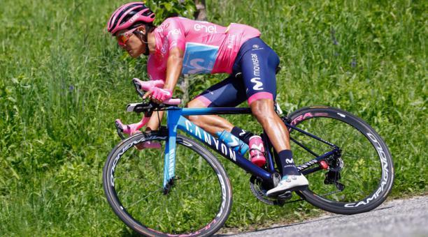 Richard Carapaz ganó el Giro de Italia sobre una bicicleta talla 'extra small'