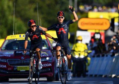 En la Vuelta a España Carapaz comandará al equipo Ineos Grenadiers